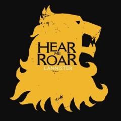 Game of Thrones Lannister Férfi póló