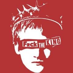 Fuck The King Női Póló