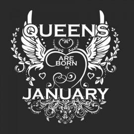 Queen are born Január Női póló