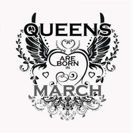 Queen are born Március Női póló