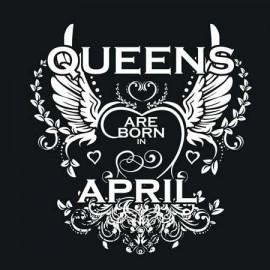 Queen are born Április Női póló