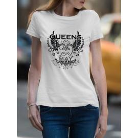 Queen are born Május Női póló