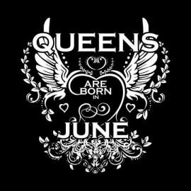 Queen are born Június Női póló