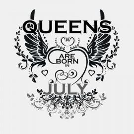 Queen are born Július Női póló
