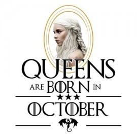 Daenerys Október Női póló