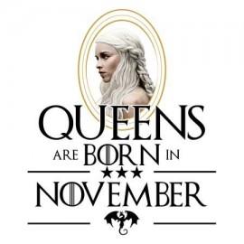 Daenerys November Női póló