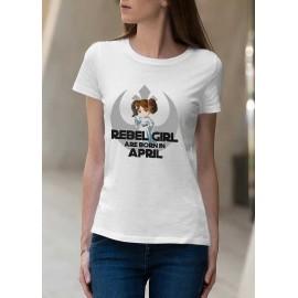 Rebel Girl Április Női póló