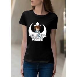 Rebel Girl Március Női póló