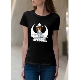 Rebel Girl Október Női póló