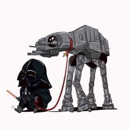 Vader ATAT Férfi póló