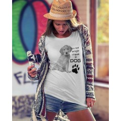I'm not single Labrador Női póló