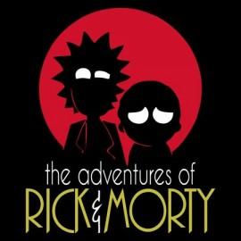 Rick & Morty Férfi Póló