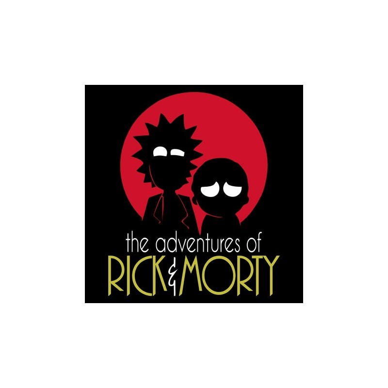 Rick   Morty Férfi Póló 6bd5f7bcb5