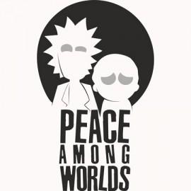 Rick & Morty Among Férfi Póló