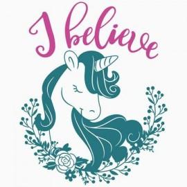I Belive Unicorn Női póló