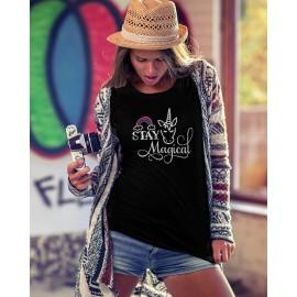 Stay Magical unikornis női póló