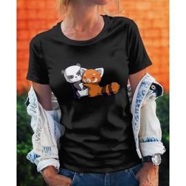 Panda Hug női póló