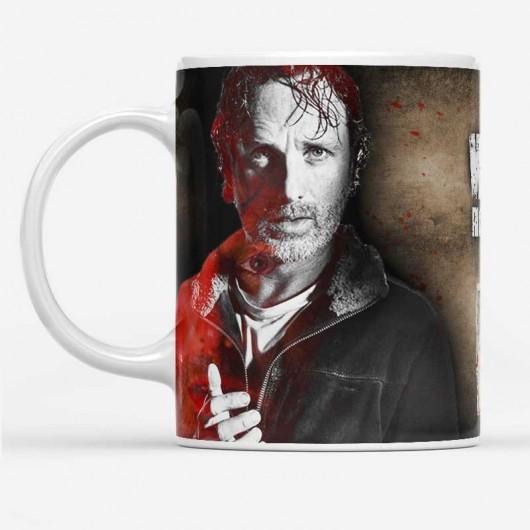 The Walking Dead Rick Grimes Bögre
