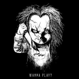 Chucky Wanna Play Férfi póló
