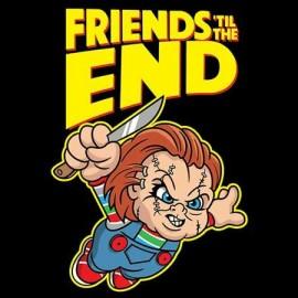 Chucky Friends 'till the end Férfi póló