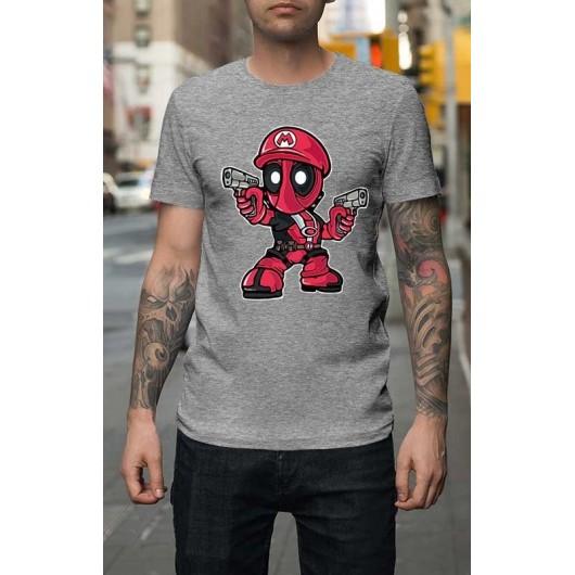 8532b19bf2 Mario Deadpool Férfi Póló