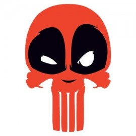 Deadpool Punisher Férfi póló