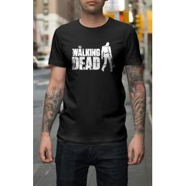 The Walking Dead Logo zombie Férfi póló