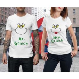 Mr és Mrs Grinch Páros póló