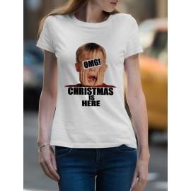 Omg Christmas Női póló