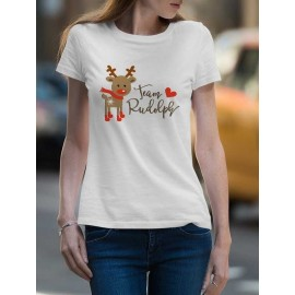 Team Rudolph Női póló