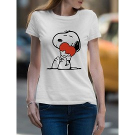 Snoopy with Hearth