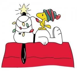Snoopy Christmas Női Póló
