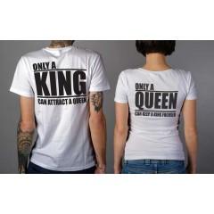 Only a King-Queen Páros póló