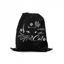 Life is better with a cat bagpack