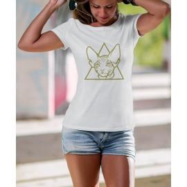 Szfinx Cica Női Póló