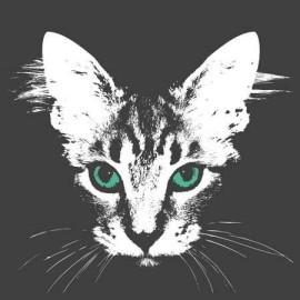 Cat Face Női Póló
