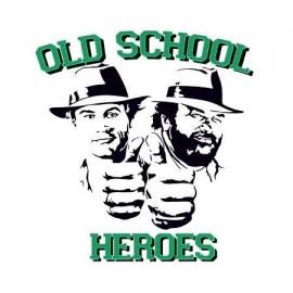 Old School Heroes Női Póló