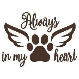 Always in my hearth Női Póló