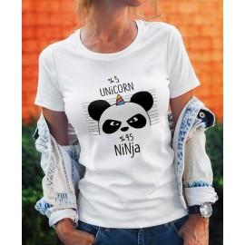 Ninja Panda Női Póló